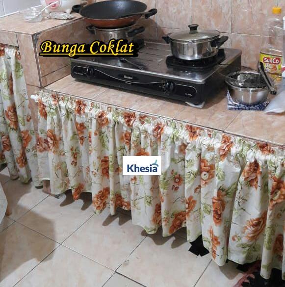 Model Gorden Pintu Tengah gorden kolong dapur archives khesia shop